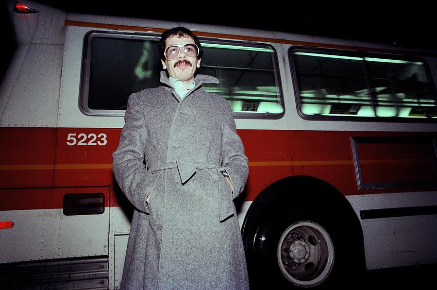 Carlos Santana On The Street Photograph by Richard Mccaffrey