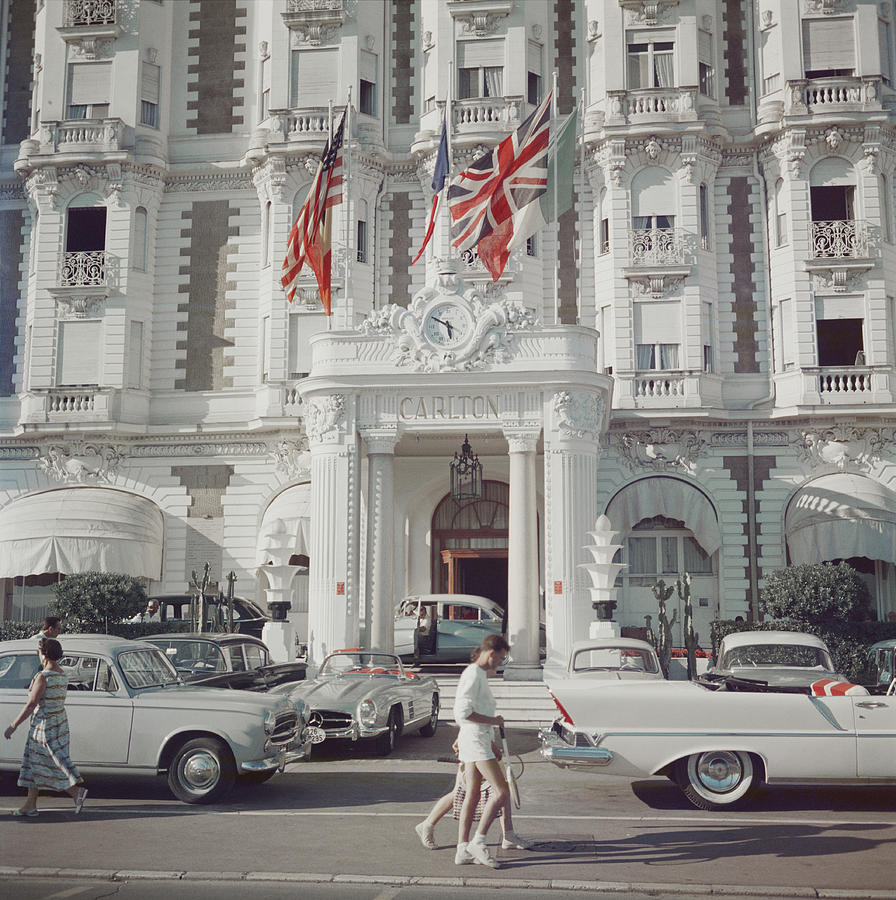Carlton Hotel Photograph by Slim Aarons