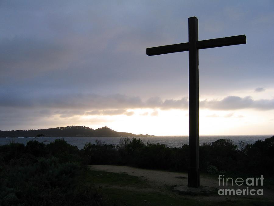 Carmel Cross Photograph