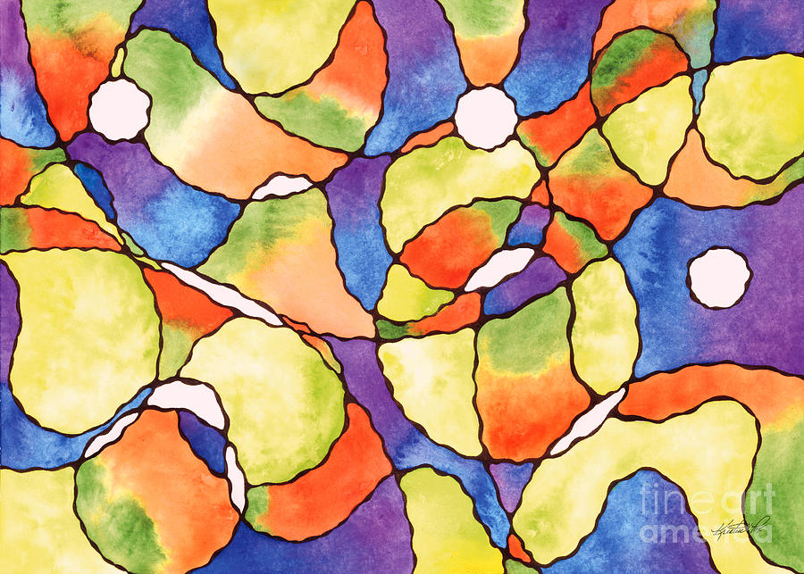 Carnival Balloon Abstract by Kristen Fox
