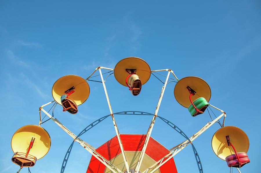 County Fair Photograph - Carnival Fan by Todd Klassy
