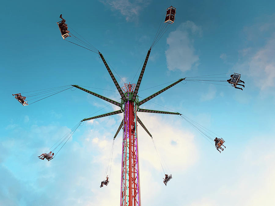Carnival Swing Photograph