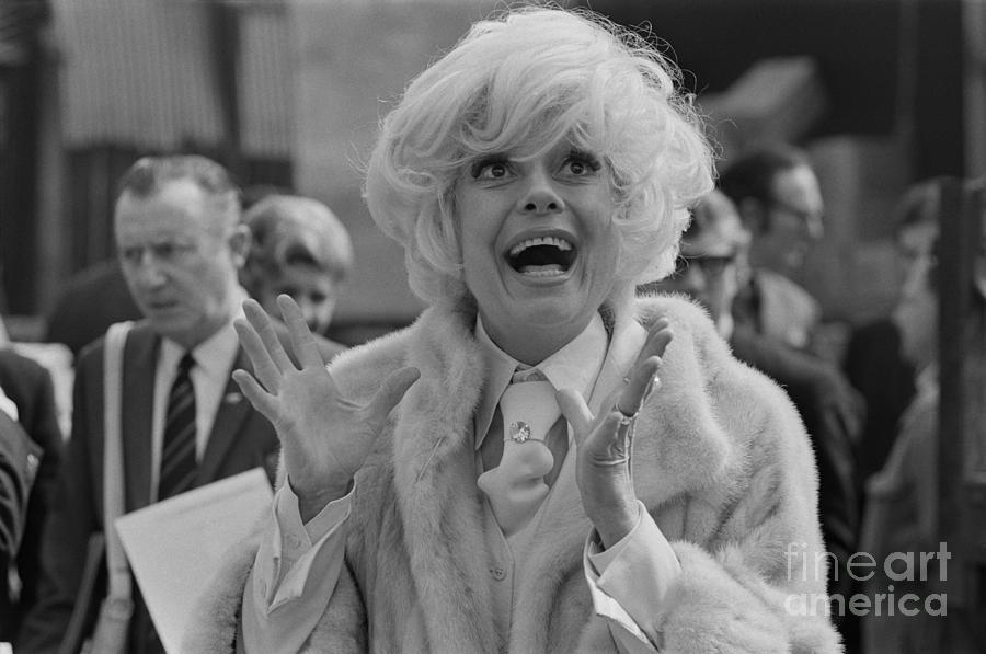 Carol Channing Photograph by John Downing