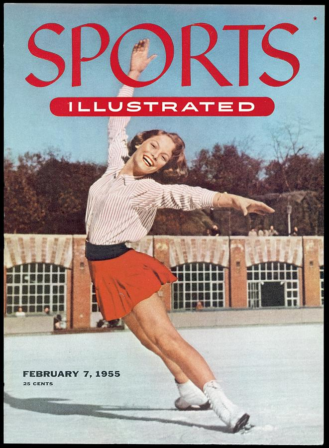 Carol Heiss, Figure Skating Sports Illustrated Cover Photograph by Sports Illustrated