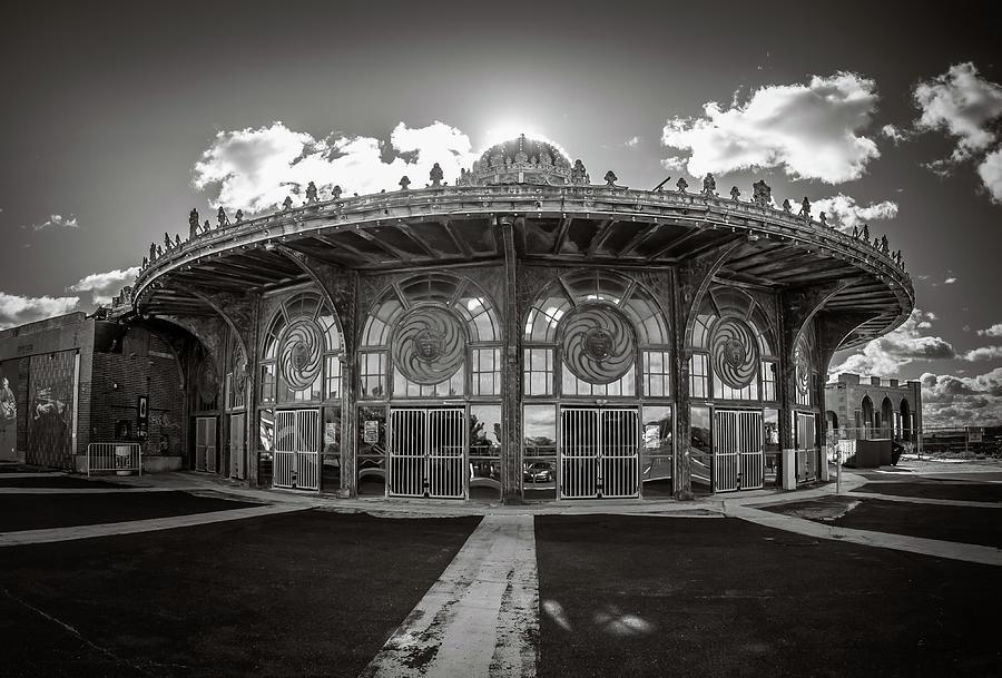 Carousel Photograph - Carousel House by Steve Stanger