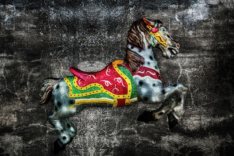 Carousel On Stone by Michael Arend