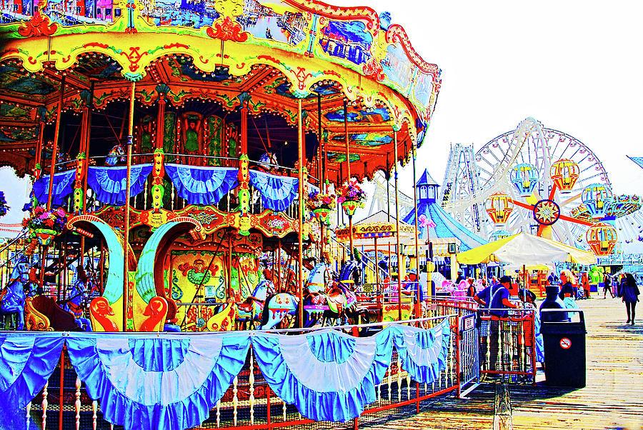 Carousel, Wildwood, NJ by Bill Jonscher