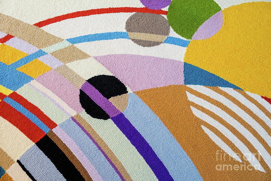 Carpet Photograph - Carpet Pattern By Frank Lloyd Wright, Phoenix, Arizona by Damian Davies