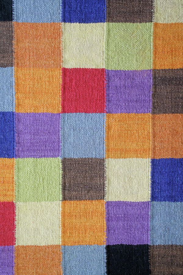 Carpet Rug In Woven Contemporary Square Photograph by Yinyang