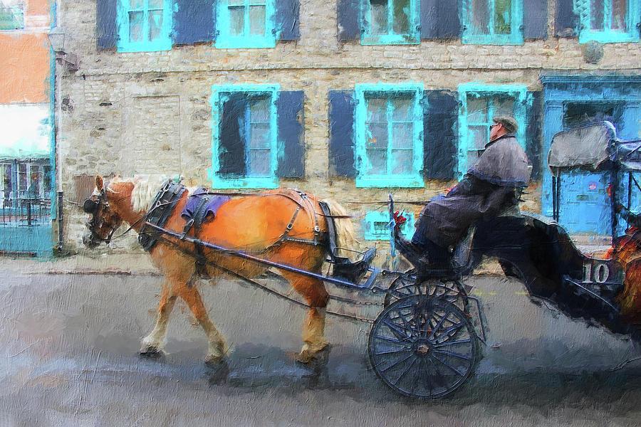 Carriage Ride Series 0633 by Carlos Diaz