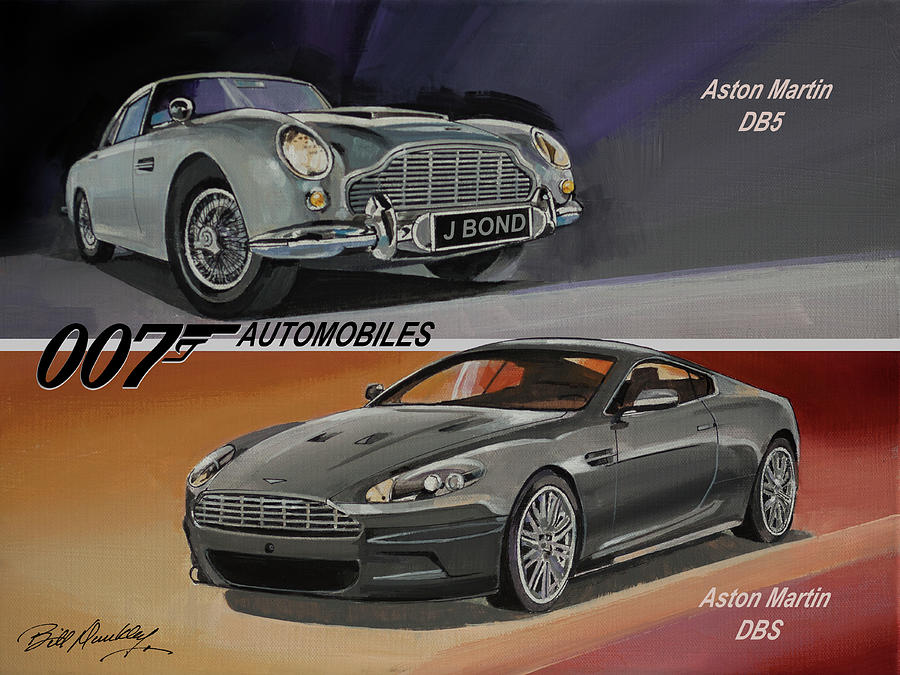 Cars of James Bond by Bill Dunkley