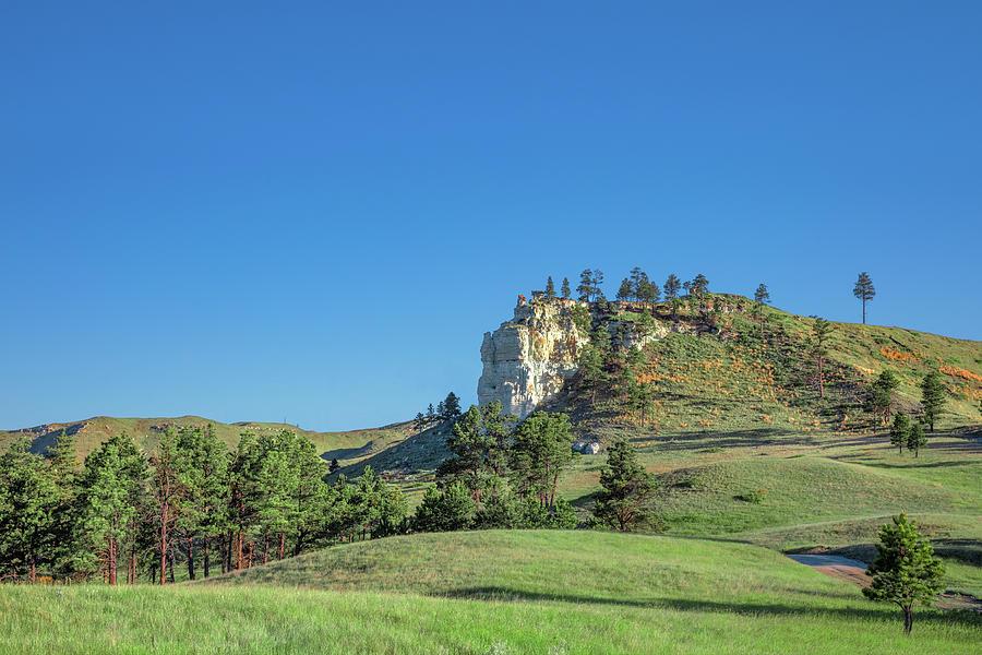 Montana Photograph - Carter County Rimrocks by Todd Klassy