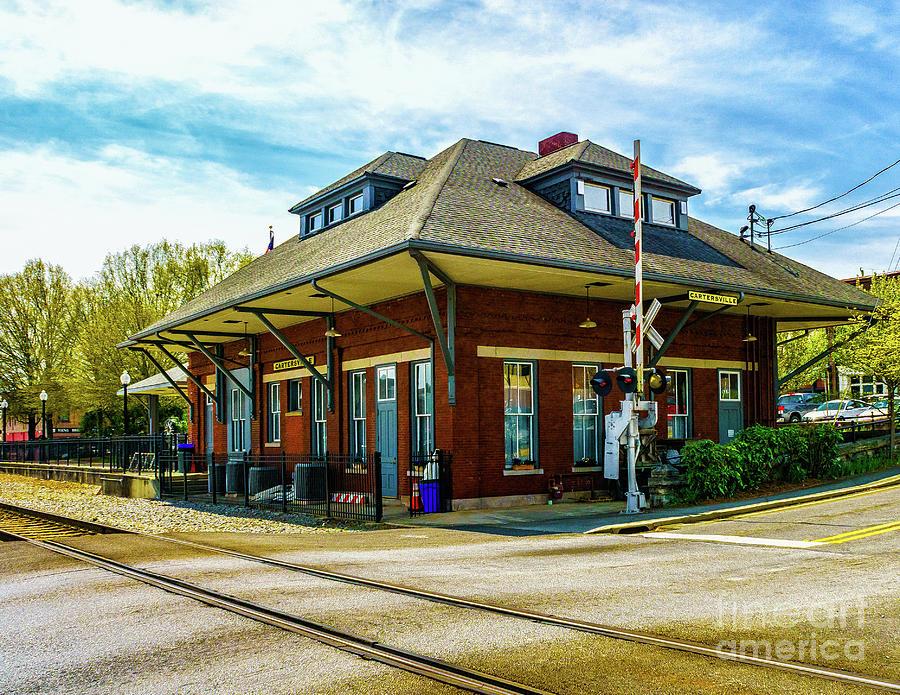 Cartersville Train Depot by Nick Zelinsky