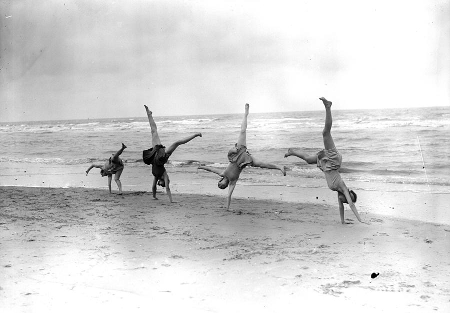 Cartwheels Photograph by Fox Photos