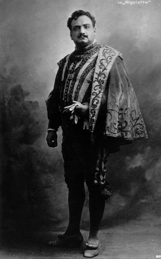 Caruso In Rigoletto Photograph by Hulton Archive
