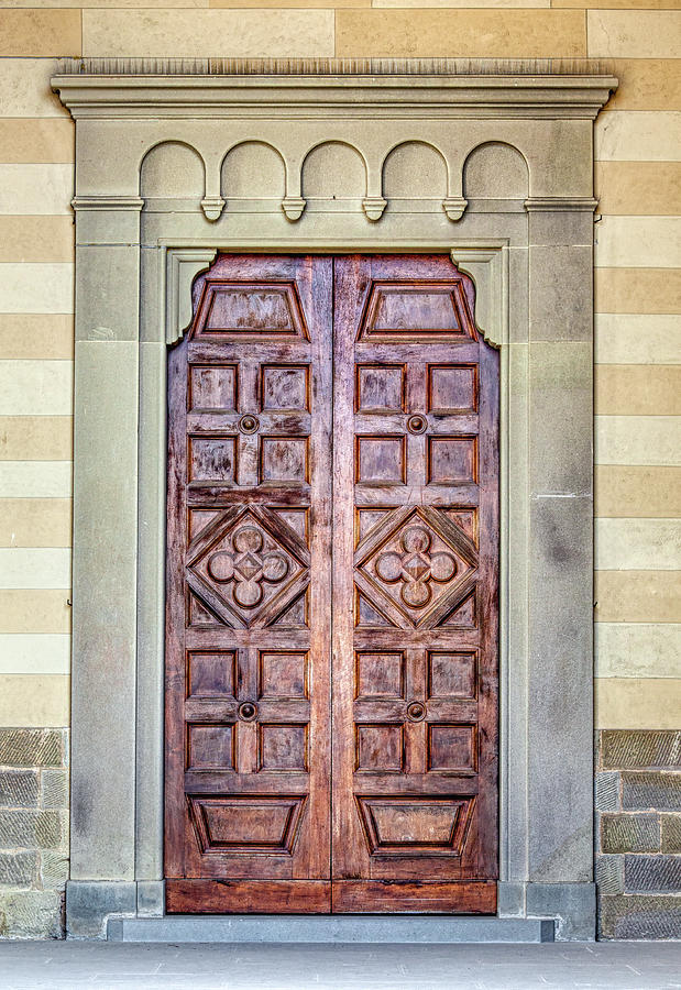 Carved Door of Cortona by David Letts