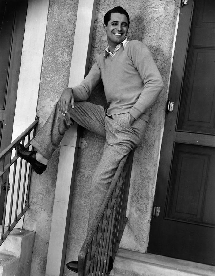 Cary Grant Photograph by Hulton Archive