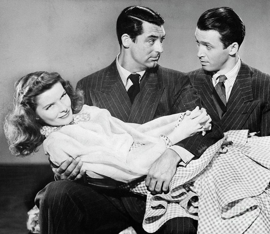 Cary Grant, James Stewart Photograph by Bettmann