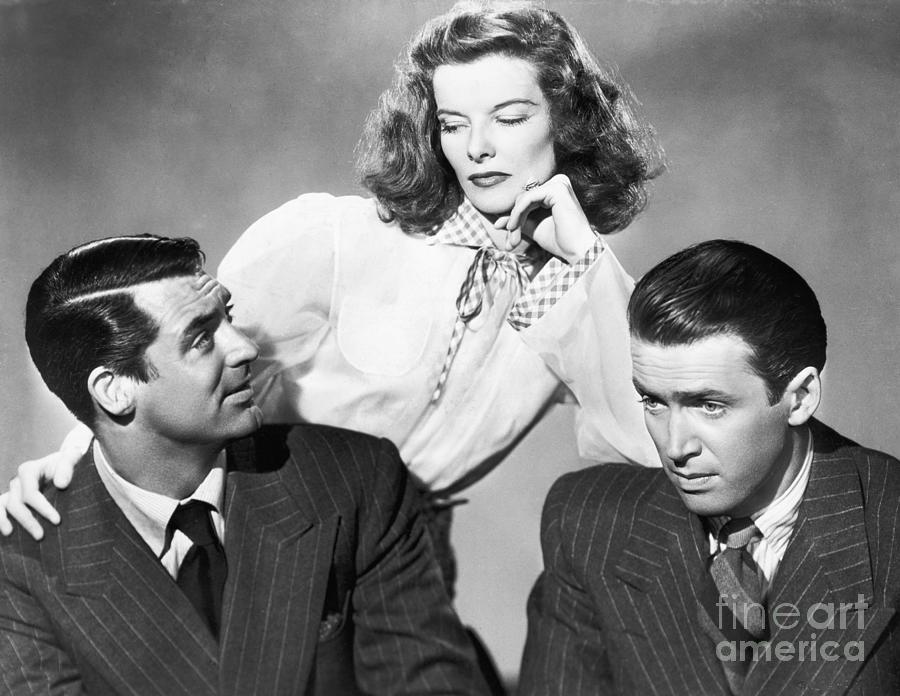 Cary Grant, Katharine Hepburn Photograph by Bettmann