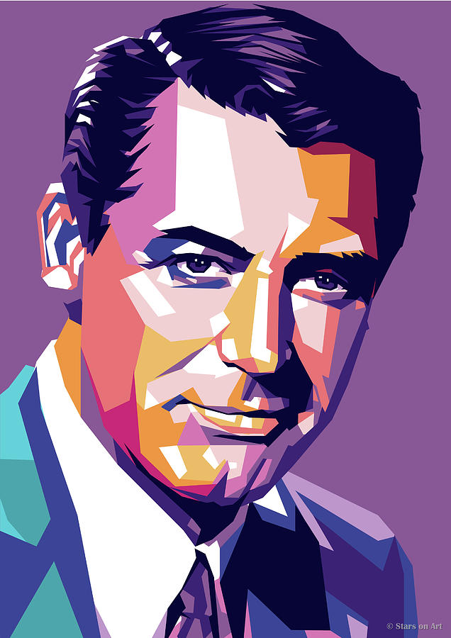 Cary Grant by Stars on Art