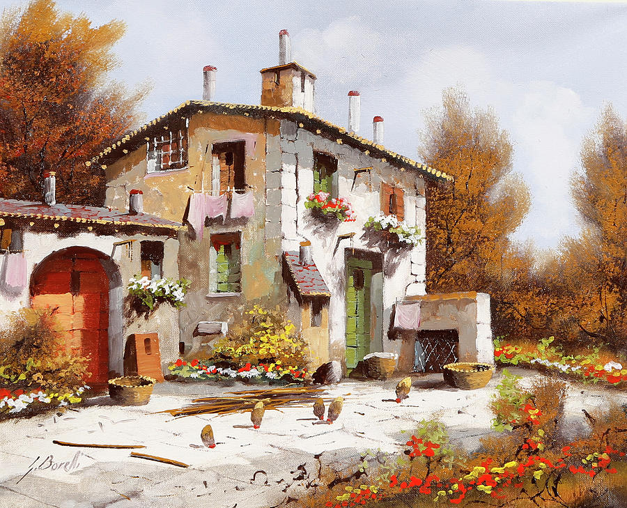 Casa Due Painting
