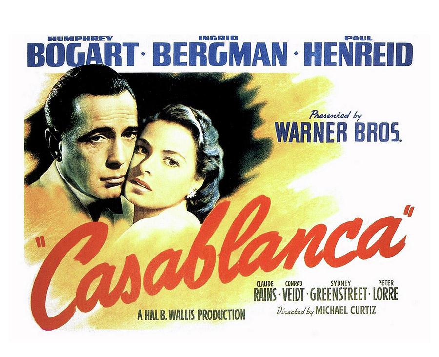 Casablanca Mixed Media by Movie Poster Prints