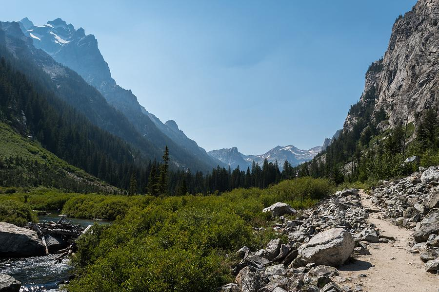 Cascade Canyon, Grand Teton National Park by Michelle McConnell