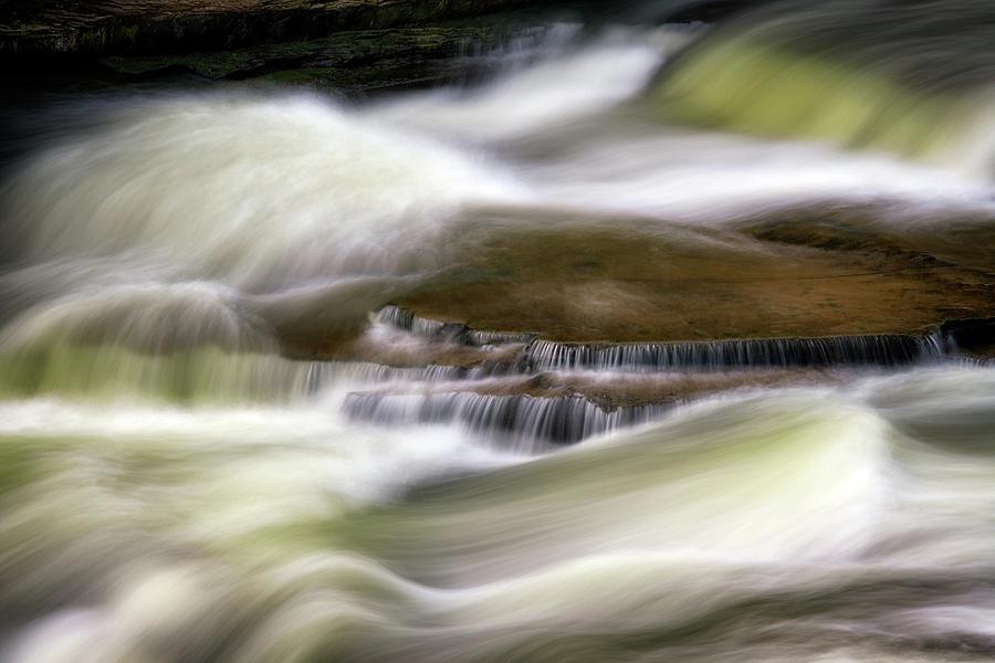 Cascade Detail at Upper Falls by Rick Berk
