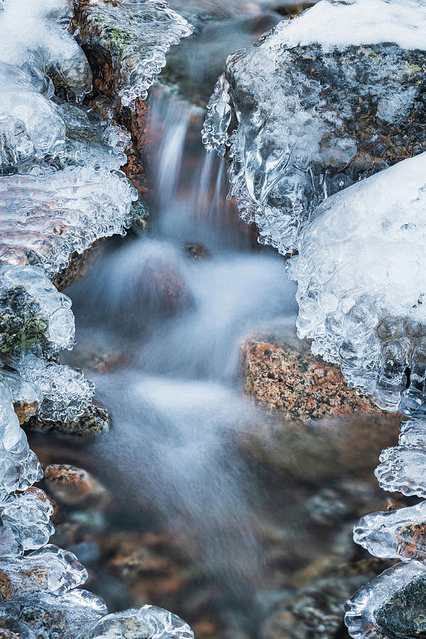 Cascade on Ice by Michael Blanchette