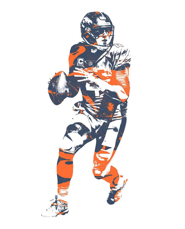 brand new e97ef 4ef62 Case Keenum Denver Broncos Pixel Art 1