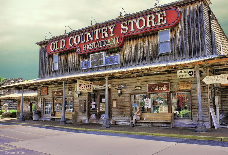 Casey Jones Village Store Photograph by Bonnie Willis