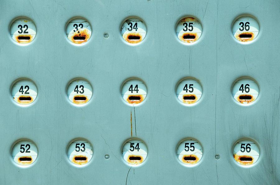 Cash Slot Parking Lot Photograph by David Kozlowski