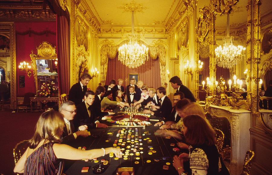 Casino Life Photograph by Slim Aarons