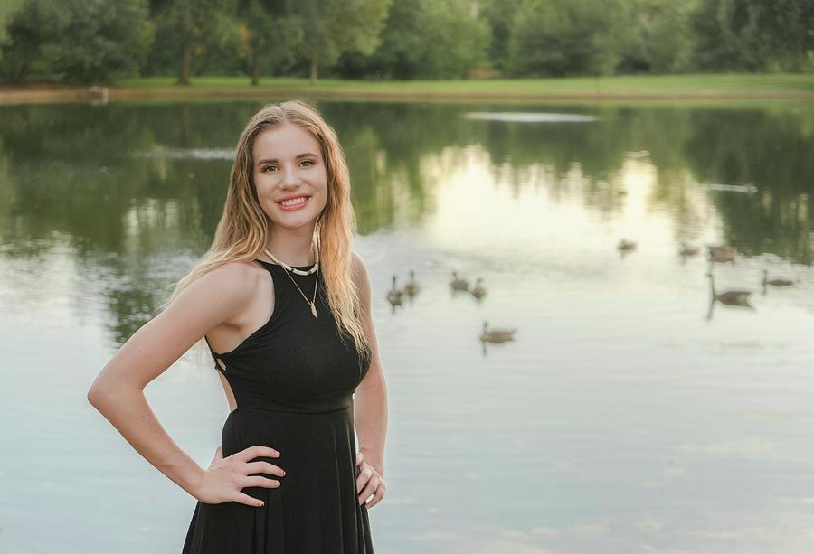Cassidy at the Lake by Jonathan Hansen