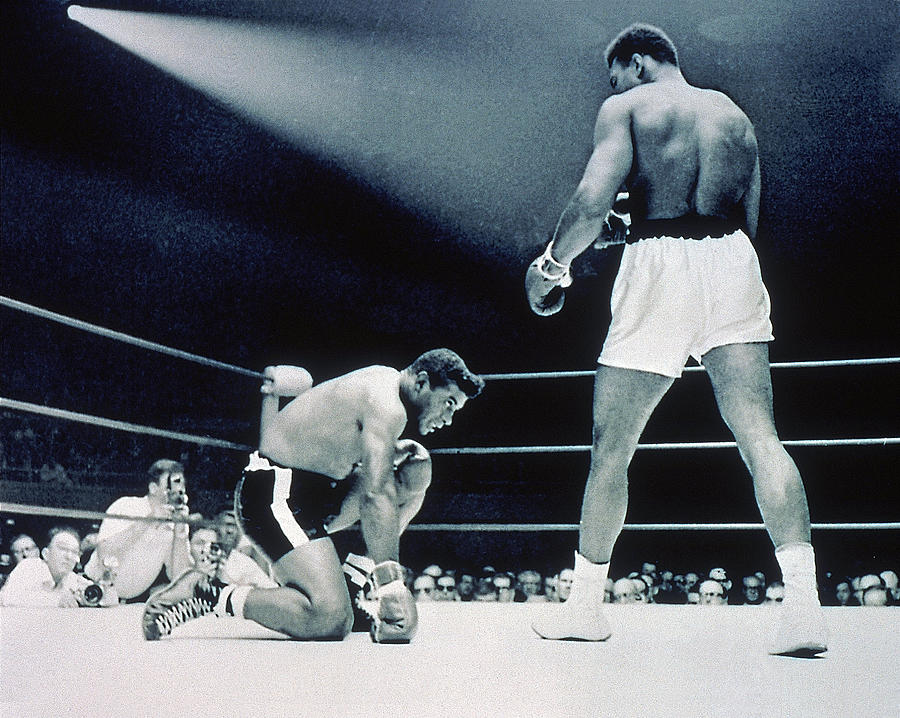 Cassisus Clay V Floyd Patterson Photograph by Hulton Archive