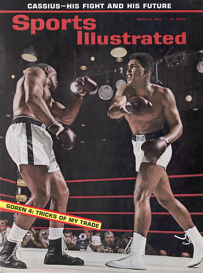 Cassius Clay, 1964 World Heavyweight Title Sports Illustrated Cover Photograph by Sports Illustrated