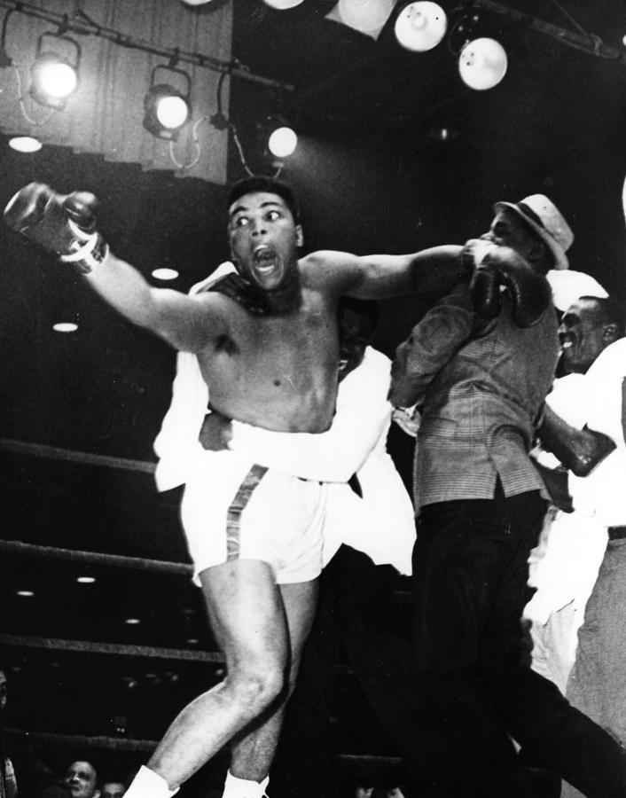 Cassius Clay Photograph by Central Press