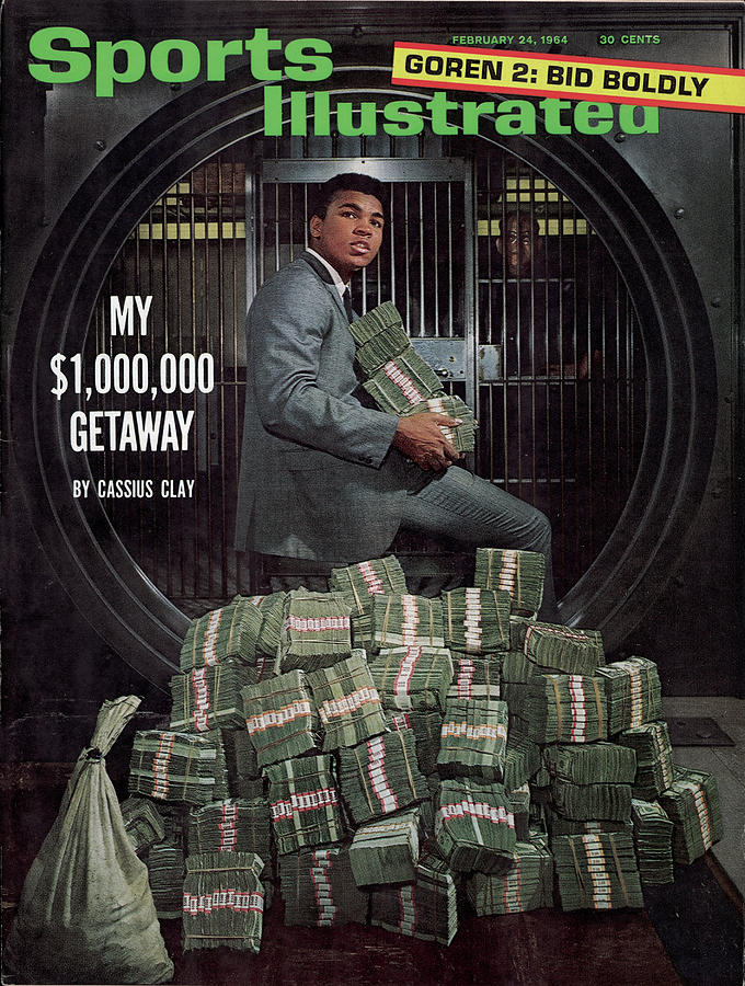 Cassius Clay, Heavyweight Boxing Sports Illustrated Cover Photograph by Sports Illustrated