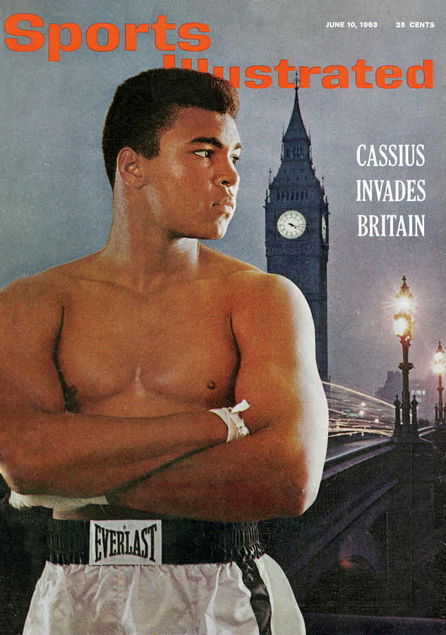 Cassius Invades Britain Sports Illustrated Cover Photograph by Sports Illustrated