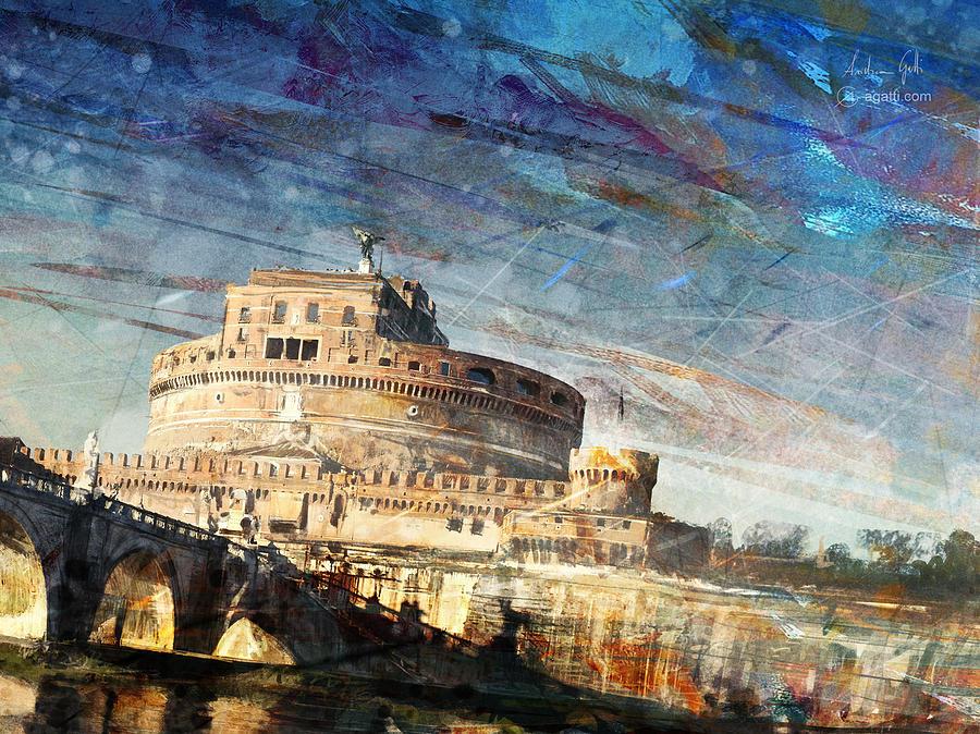 Castel Santangelo Digital Art