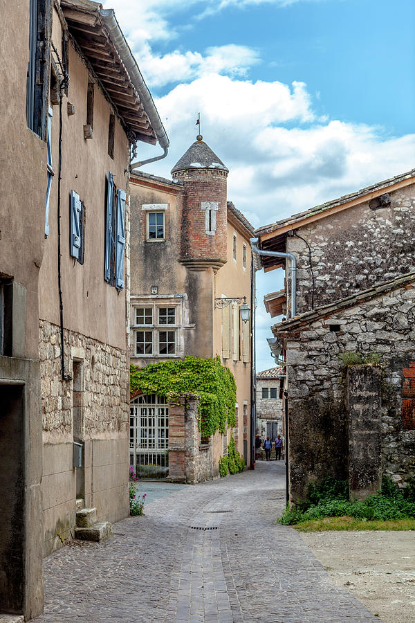 Medieval Photograph - Castelnau-de-montmiral by W Chris Fooshee