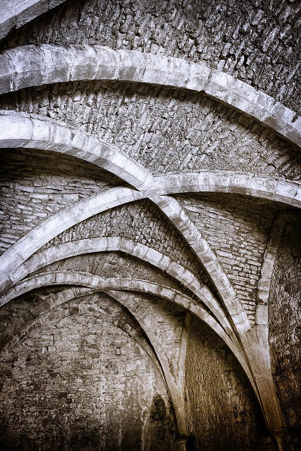 Castle Cellar Ceiling Photograph by Susandaniels