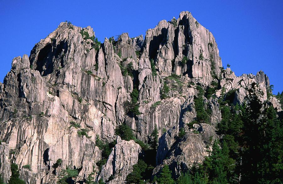 Castle Crags Landscape Photograph by John Elk
