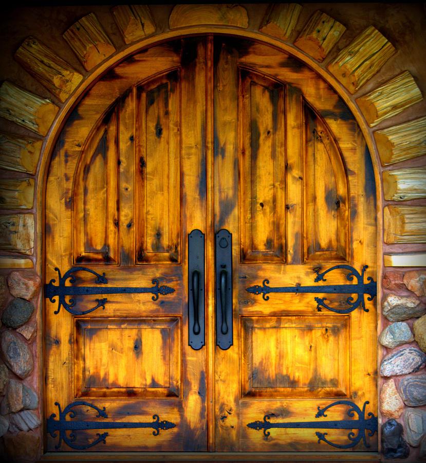 Castle Door by Kimberly Woyak