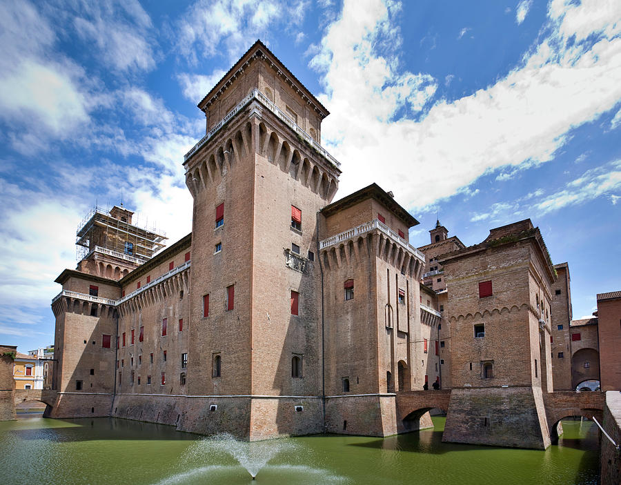 Castle Estense Photograph by Intraprese
