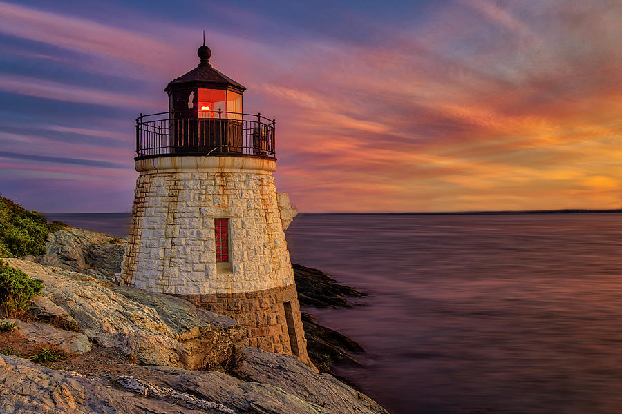 Castle Hill Lighthouse RI by Susan Candelario