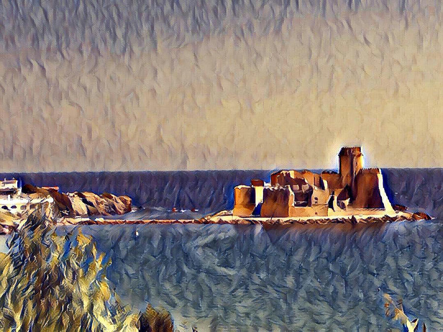 CASTLE IN SEA by Lucia Sirna