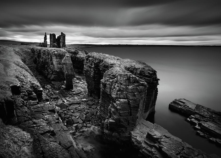 Castle Sinclair Girnigoe by Dave Bowman