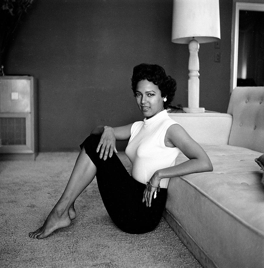 Casual Portrait Of Actress Dorothy Photograph by Allan Grant