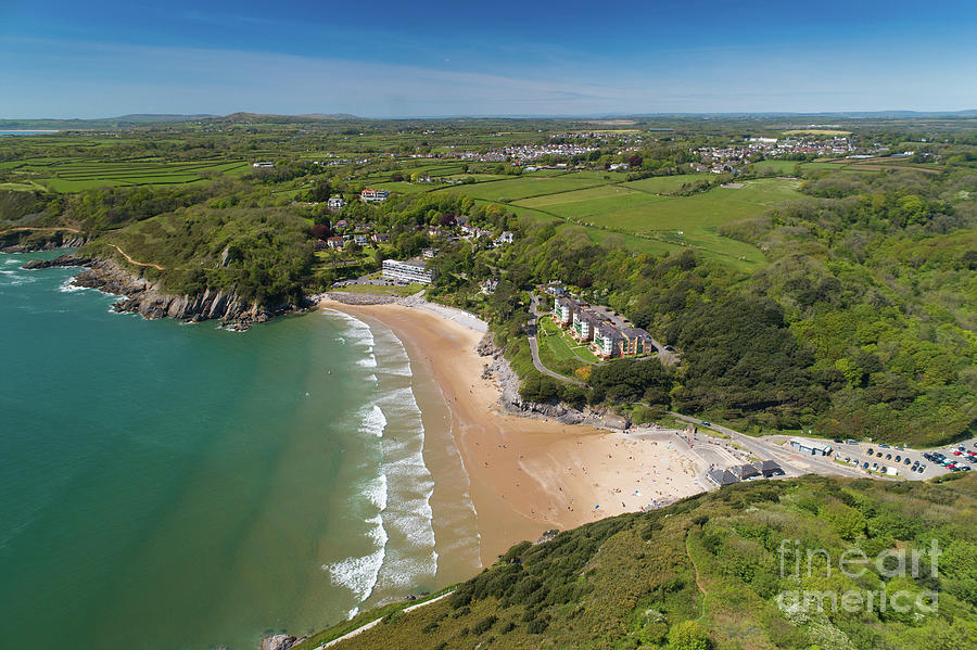Europe Photograph - Caswell Bay, Gower, Wales by Keith Morris